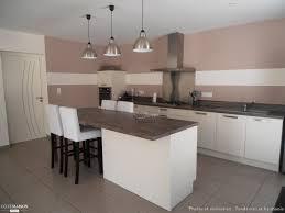 deco cuisine taupe décoration d 039 un salon séjour cuisine entrée tendances et
