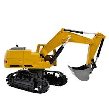 100 Used Rc Cars And Trucks For Sale 8CH Simulation RC Excavator Toys With Music Lght Children RC Truck