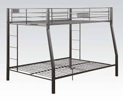 over queen limbra black sand metal bunk bed