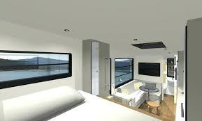 Rv Interior Design Sleeping Area In My Dream Small