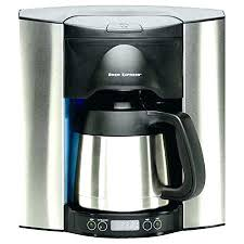 Wall Mounted Coffee Maker In Brew Express Programmable Cup Recessed Dispenser