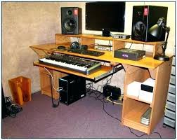Home Recording Studio Plans Designs Bedroom Design Prepossessing Desk