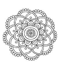 TICS Coloring Mandalas For Adults And Children