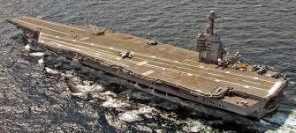 100 Aircraft Carrier Interior This Is The Only Photo Of A US Navy Supercarrier Being