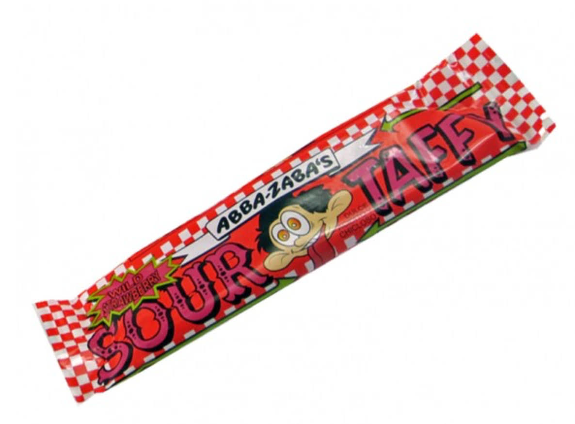 Annabelle Candy Sour Strawberry Taffy 24/1.8oz