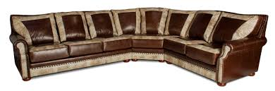 Bernhardt Foster Leather Sofa by Leather Sectional American Casual Ellery Large Lshaped Sectional