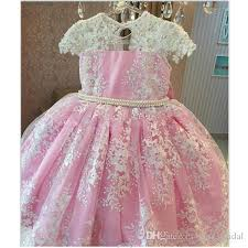 2018 Cute Flower Girl Dresses A Line Jewel Cap Sleeve Floor Length