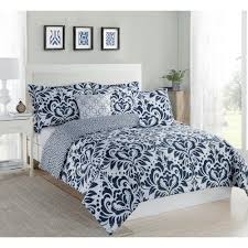Twin Xl Bed Sets by Patina Blue King Microfiber 10 Piece Comforter Set Mf75p04cmfs