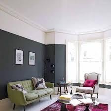 pour des plafonds bas éviter de peindre jusqu en haut du mur en