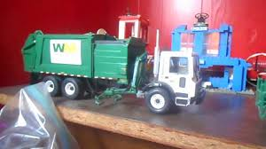 My First Gear Trash Truck Collection. - YouTube
