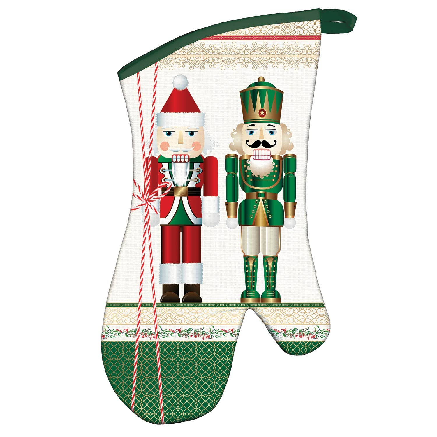 Michel Design Works Nutcracker Oven Mitt