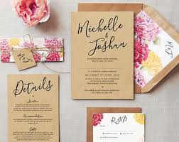Award Winning Wedding Invitations By FeelGoodInvites On Etsy