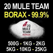 Borax Sodium Tetraborate Decahydrate 99 9% Lab Grade 500g 1KG 2KG