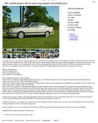 1991 Audi 90 Quattro 20V: But The Wife Wants A 5 Series