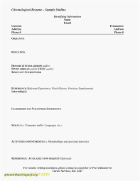 Example Of A Resume For Highschool Student No Experience Inspirational Unique Students