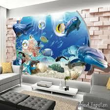 3d türaufkleber kreativität in der unterwasserwelt 77x200cm