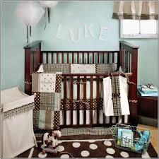 Brown And Blue Bedding by Bedding Sports Crib Bedding Set