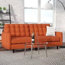 Wayfair Soho Leather Sofa by Shallow Depth Sofa Wayfair