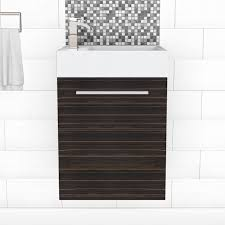 18 Inch Deep Bathroom Vanity Canada by Wall Mounted Bathroom Vanities Lowe U0027s Canada