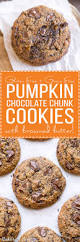 Libbys Pumpkin Cookies With Chocolate Chips by Pumpkin Chocolate Chunk Cookies Gluten Free Grain Free Bakerita