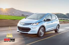 Chevrolet Bolt EV Is MOTOR TREND Car Of The Year®