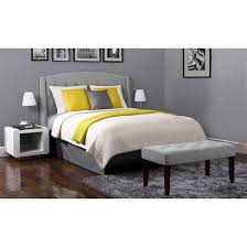 roma tufted end of bed bench dorel living target
