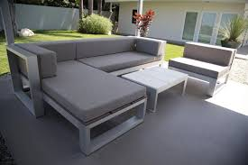 fancy modern outdoor sectional sofa innovative patio pads for