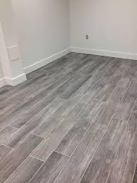 grey wood floor tile