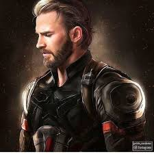 Marvel Captain America And Chris Evans Image