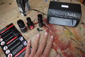 Sensationail Pro 3060 Led Lamp Boots beauty u0026 le chic review sensationail gel manicure kits they