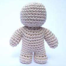 One Piece Crochet Doll Pattern Supergurumi