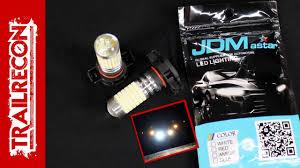 jdm astar led fog lightbulb review and install on a jeep wrangler