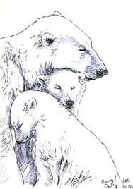 Download Free Mother And Baby Bear Sketch Tattoo On My Shoulder I