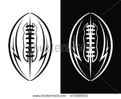 American Football Line Icon Download Free Vector Art Stock