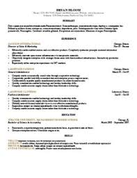 Out Of The Box Resume Template