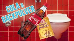 toilette reinigen mit cola und backpulver wc putzen mit hausmittel