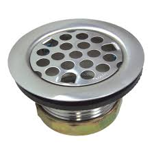 Sink Strainer Nut Wrench by Flat Kitchen Sink Strainer Assembly In Chrome Danco