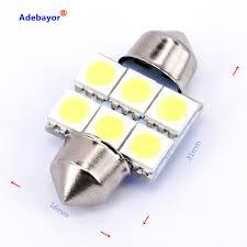 Aliexpress Buy 30X31mm 36mm 39mm 41mm 5050 SMD 6 LED Festoon