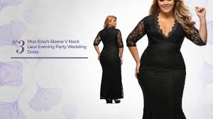 outstanding plus size evening dresses youtube