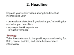 Good Resume Titles Ideas Collection For Freshers Awesome Headline Examples Publish Gallery