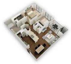 104 Two Bedroom Apartment Design 7 Seventy S In Houston