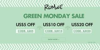 Romwe #GreenMonday UP To $20 Off On Orders Over $189+ ... Romwe Coupon Codes Nasty Gal August 2018 50 Off Little Elyara Coupons Promo Discount Okosh Free Shipping 800 Flowers 20 Swimsuits For All Online Coupon Codes Blog Eryna Batteryspace Johnson Fishing Code Ufc Yandy Com Barnes And Noble Printable Coupons This Month September Romwe Home Depot Water Heater Angellift 2019 Earplugsonline Ticketpro Malaysia