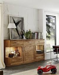sideboard highboard anrichte wohnzimmer esszimmer wildeiche massiv geölt lanatura