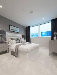 elegantes schlafzimmer mit hellem bild kaufen 12324475