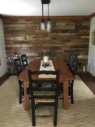 DIY Reclaimed Barn Wood Accent Wall Brown Natural Mixed Width ... Rustic Ranch Style House Living Room Design With High Ceiling Wood Diy Reclaimed Barn Accent Wall Brown Natural Mixed Width How To Fake A Plank Let It Tell A Story In Your Home 15 And Pallet Fireplace Surrounds Renovate Your Interior Home Design With Best Modern Barn Wood 25 Awesome Bedrooms Walls Chicago Community Gallery Talie Jane Interiors What To Know About Using Decorations Interior Door Ideas Photos Architectural Digest Smart Paneling 3d Gray