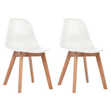Nordic Dining Chairs Set Of 2 White Seat Wood Legs Scandinavian Style Industrial Modern Tolix Style Bamboo White Alinum Ding Chairs Luna Room Contemporary Leatherette Height Set Of 2 Corliving Filia Chair Side Copper Grove Spicata Wood Armless Ebay Amazoncom Target Marketing Systems Tms Country Arrowback Fniture America Livada Ii Counter Cm3170wh Adderley Urbanmod By Leyden Antique Gdf Studio Wm String Nannie Inez Vida Living Louis Silver From