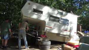 Mounting Fallen Truck Camper On Trailer Pt 2 - DIY TUBE Video Community 2003 Ss 11 Dbs Truck Camper 93 South Rv Implement Trailer Teardrops N Tiny Travel Trailers View Topic Mounting A Truck What Would You Do Slide In Camper Expedition Portal 15 Of The Coolest Handmade Rvs You Can Actually Buy Campanda Magazine Camplite 86 Ultra Lweight Floorplan Livin Lite Home Eureka Campers Fallen On Pt 2 Youtube Live Really Cheap Pickup Financial Cris Tent Body Style Mac Sales 27 Brilliant Pics Fakrubcom Ideas That Make Pickup Campe Strong Bahn Works