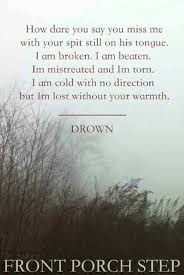 I love this song so much Drown Front Porch Step ♡