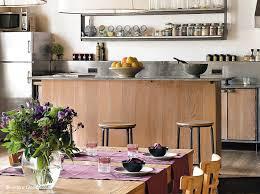cuisine bois et bois inox le chaud et le froid le journal de la maison