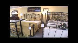Wesley Allen Queen Headboards by Wesley Allen Iron Beds From Rainbow Furniture In Fort Wayne Youtube
